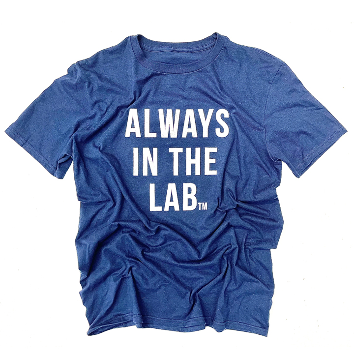 ALWAYS IN THE LAB NAVY SS
