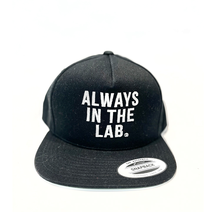 ALWAYS IN THE LAB BLACK SNAP BACK