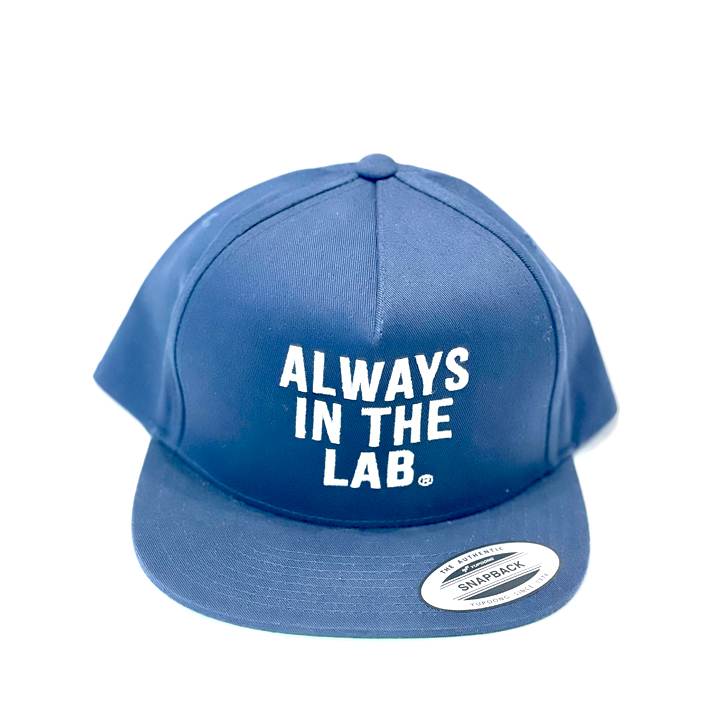 ALWAYS IN THE LAB NAVY SNAP BACK