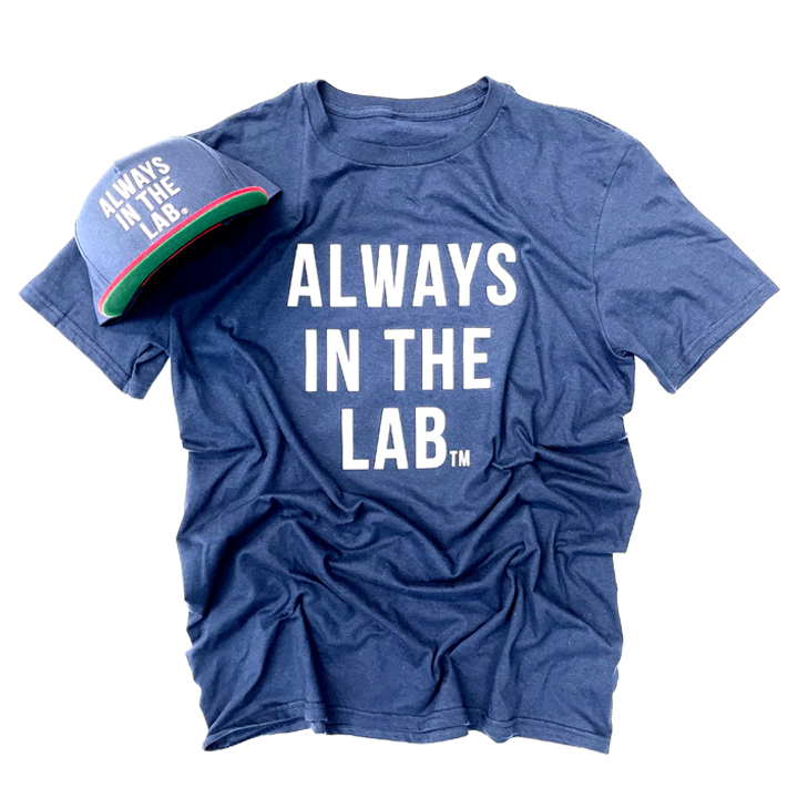 "ALWAYS IN THE LAB NAVY SS ""The Mindset"""